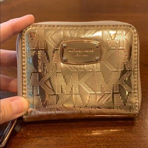 Michael Kors wallet,rose
